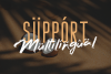 Bafora - SVG Font Bonus Bondie Font example image 14
