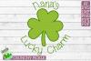 Nana's Lucky Charm - St Patrick's Day SVG File example image 2
