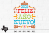 2021 Feliz Ano Nuevo SVG, Cut File, Happy New Year Design example image 1