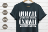 Inhale exhale SVG example image 1