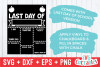 First Day of School Apple| SVG Cut File example image 3