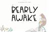 Bearly Awake - Handwritten Font example image 1