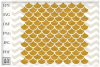 Mermaid pattern svg, Mermaid scale svg, Fish scale SVG example image 2