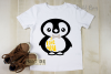 Penguin designs SVG / DXF / EPS / PNG Files example image 6