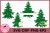 Christmas Tree SVG, Christmas Tree Grunge svg, Christmas example image 1