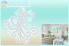Octopus Mandala Zentangle Svg Dxf Eps Png Pdf Files example image 1