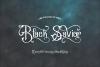Black Savior - decorative calligraphy Display Font example image 2