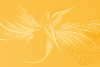 Calligraphic Birds Family Pack example image 5