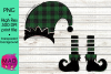 Christmas Elf - Add Your Own Text Template - Buffalo Plaid example image 1