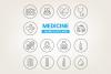 Circle Medical Icons example image 1