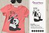 Heya!   Fun Panda Bear SVG   Funny Panda Illustration example image 1
