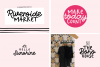 The Mini Crafty Bundle - 10 Fun & Quirky Fonts example image 6