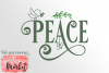 Peace SVG DXF EPS PNG example image 2
