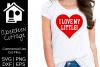 Love My Little SVG Sorority Design example image 1