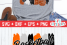Basketball Aunt | SVG Cut File example image 3