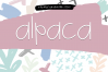 Alpaca My Lunch - Fun and Quirky Font example image 1