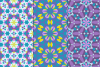 12 Kaleidoscope Seamless Patterns example image 2