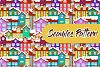 Christmas Mini Bundle - 2x Seamless Pattern and 6 Clip Arts example image 2