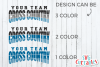Cross Country Template 002| SVG Cut File example image 3