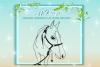 Horse Mandala Zentangle Svg Dxf Files For Cricut example image 2