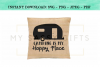 Camping Is My Happy Place SVG Design example image 5
