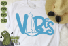 Beach Vibes Surfboard SVG example image 1