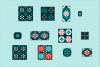 Small Seamless Holiday Patterns example image 5