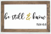 Be Still and Know SVG | Prayer SVG |Christian SVG example image 2