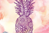 Pineapple Zentangle SVG | Summer Cut File example image 3