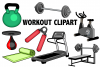 Workout Clipart example image 1