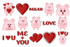 Mouse Love Clipart example image 2