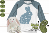 Plaid & Grunge Spring Easter Bunny 3 SVG Cut File example image 2