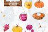 Sweets Cake Pumpkin Pie Fall Autumn Clip Art example image 5