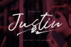 Justin (FontsTrio+swash) example image 1