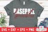 Baseball Grandma   SVG Cut File example image 1