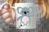 Koala SVG / PNG / EPS / DXF Files example image 3