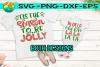 Tis the Season to be Jolly - Fa La La La La - Christmas SVG example image 1