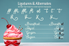 Buttercream Dream - A fancy font duo example image 15