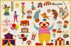 80 Magical Carnival Vector Clipart & Seamless Patterns example image 4