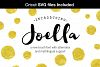 Joella hand lettered font example image 1