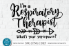 Respiratory therapist svg, RT svg, breath svg for cricut example image 1