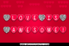 Love is Awesome example image 1