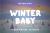 Winter Baby Display Font example image 1