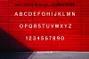 ANASTASIA, A modern typeface example image 8
