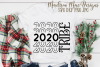 New Years SVG, 2020 Tribe SVG, Holiday SVG example image 2