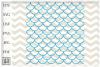 Mermaid pattern svg, Mermaid scale svg, Fish scale SVG example image 3
