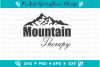 Mountain Therapy Svg, Mountain Svg, Therapy Svg, Mountains example image 2