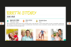 The Biography Presentation Templates example image 4