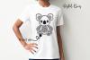 Koala SVG / PNG / EPS / DXF Files example image 2