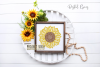 Sunflower SVG / PNG / EPS / DXF Files example image 2